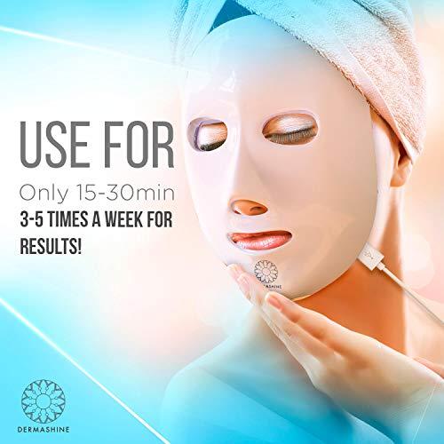 Dermashine Pro 7 Color LED Face Mask