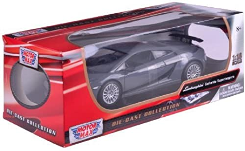 Richmond Toys 1 18 Lamborghini Gallardo Superleggera Die-Cast Collectors Model Car (Metallic schwarz) by Richmond Toys