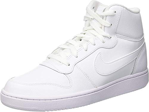 Nike Herren Ebernon Mid Sneakers, Weiß White 001, 44.5 EU