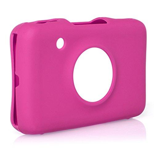 Polaroid Dual – Piel de Silicona Protectora para la cámara Digital de impresión instantánea (Color) Snap y Snap Touch (Purpura)