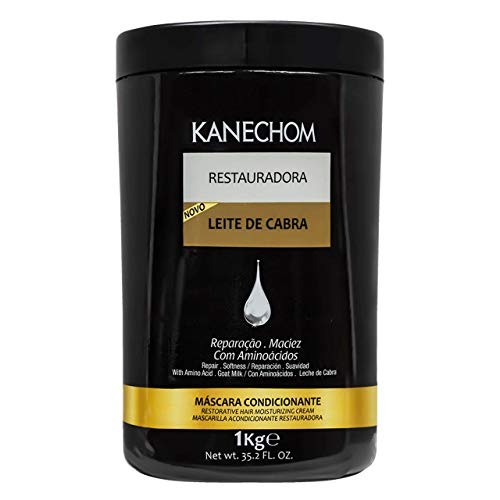 Kanechom - Linha Classics - Mascara Condicionante Restauradora Leite de Cabra 1000 Gr - (Kanechom - Classics Collection - Goat Milk Restoration And Conditioning Mascara Net 35.27 Oz)