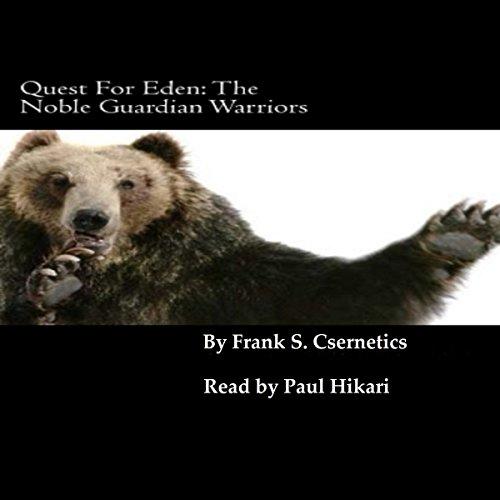 Quest For Eden audiobook cover art