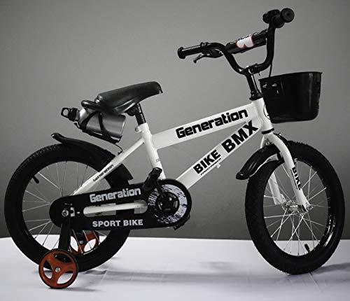 Generazione BMX Bicicletta da ragazzo, 16', colore: bianco