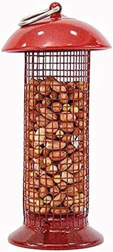 Bird Feeders Direct sale of manufacturer Atlanta Mall for Outside Grid Outdoor Hanging Red Feede Pet Mini