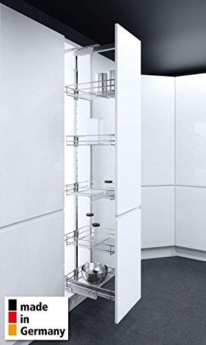Vauth-Sagel© Hochschrankauszug HSA Apothekerauszug Schrankausstattung Küchen-Schrank-Körbe Höhe 650-950 mm Breite 300 mm 2 Körbe Modell Saphir