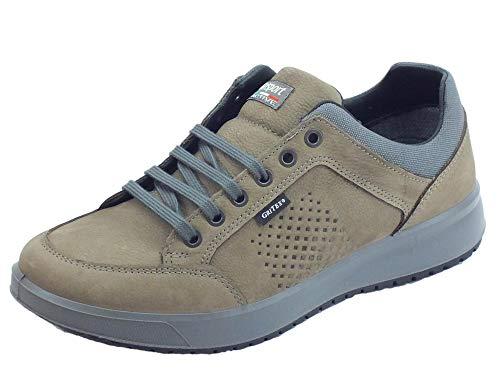 Grisport Active 43601C24G Zapatos de Hombre con Estampado de Roca Canguro, Color marrón, antiestáticos Marrón Size: 40 EU
