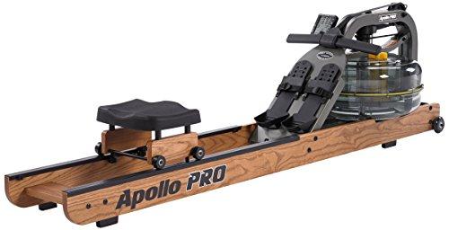 Fluid Rower Apollo Pro - Máquina de Remo para Fitness, Talla única