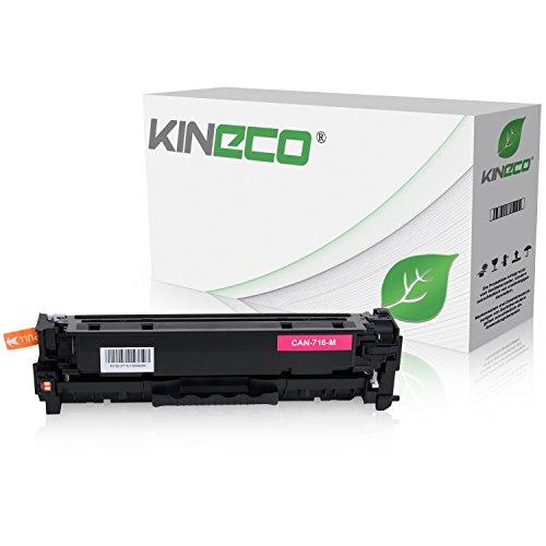 Kineco Toner kompatibel zu Canon 716 für Canon LBP-5050, Canon I-Sensys LBP-8030CN, MF8040CN, MF8050CN, MF8080CW - 1978B002 - Magenta 1.400 Seiten