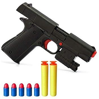 Pinovk Kid Toy Gun Realistic 1 1 Scale Colt M1911A1 Rubber Bullet Pistol Mini Pistols