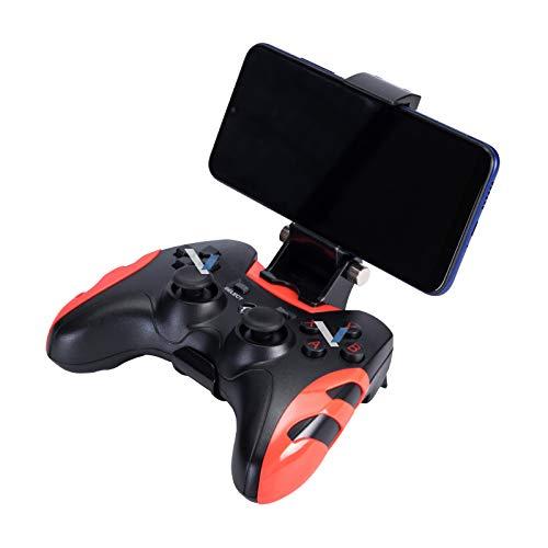 Haz clic para obtener una vista ampliada Control Inalámbrico Bluetooth Recargable para Celular Android y PC (Rojo)