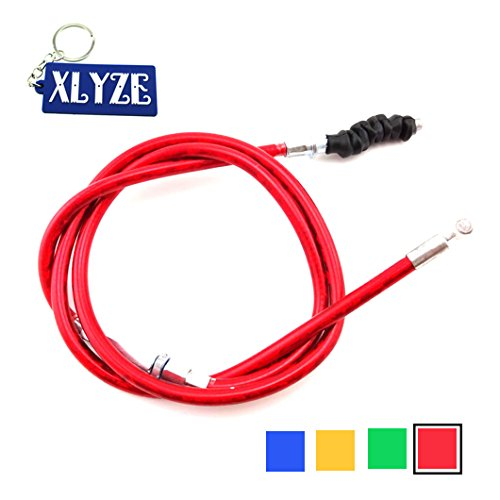 XLYZE Cable de embrague rojo para 50cc 70cc 90cc 110cc 125cc 140cc 150cc 160cc CRF KLX TTR IMR YCF SDG SSR Pit Dirt Bike