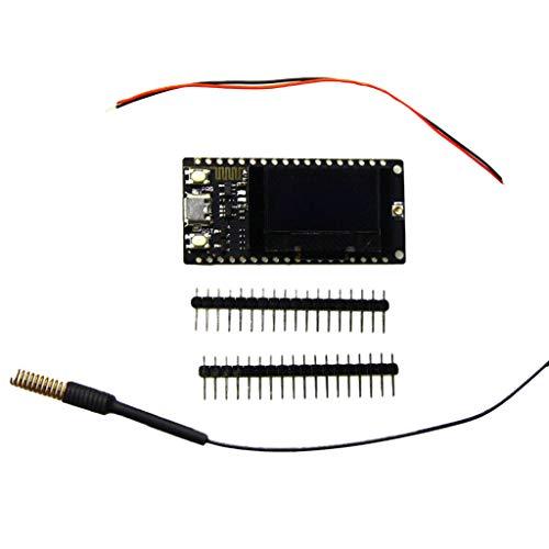 TTGO LORA32 433 MHz OLED de 0,96 Pulgadas Módulo WiFi con Pantalla Bluetooth Módulo inalámbrico Bluetooth Classic Pass-Through
