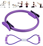 crazy bean Fitness-Widerstandsring Pilates Klingelt Pilates Ring Yoga Ring Mit...