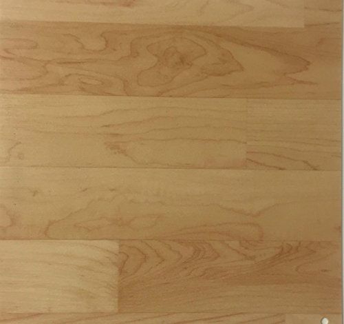 PVC Vinyl-Bodenbelag in Ahorn-Schiffsboden-Optik | CV PVC-Belag verfügbar in der Breite 200 cm & Länge 200 cm | CV-Boden wird in benötigter Größe als Meterware geliefert | rutschhemmend & robust