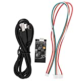 Télécommande sans fil antidérapante pour skateboard électrique 3 modes de vitesse résistant à la chaleur pour la plupart des ESC