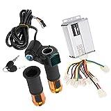 Demeras Juego de controladores de fácil instalación para acelerador eléctrico resistente a la lluvia, para todo tipo de bicicletas eléctricas