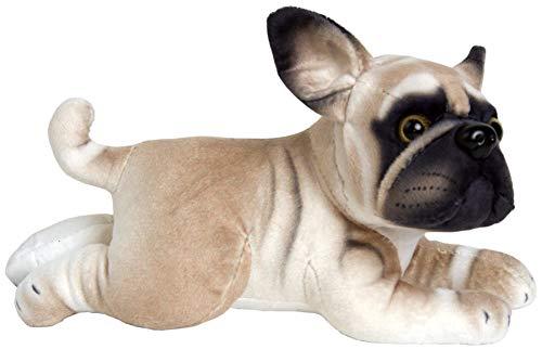 JESONN 10 Inch Plush Stuffed Animals Toy Dog (Bull Dog)