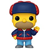 Funko 52253 Pop! Televisión: Los Simpsons - Mr. Plow (Edición Especial) #910