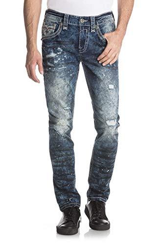 Rock Revival – Jeans da Uomo Elcomb Ta201 Jeans 48