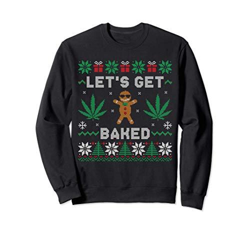 Lebkuchenmann raucht Gras Cannabis...