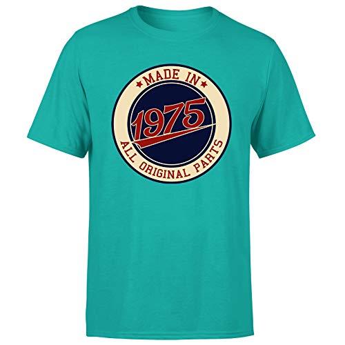 Made in 1975 - Camiseta de regalo de cumpleaños para hombre de 46 años