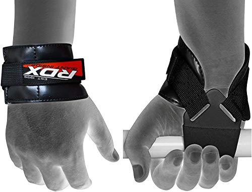 RDX Fasce Polsi Palestra Fitness Cinghie Sollevamento Pesi Supporto Peso Bodybuilding