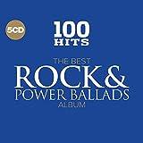 100 Hits: Best Rock & Power Ballads Album / Var (5 CD)