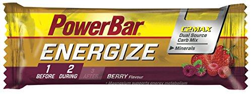 Barrita Energética Energize PowerBar 25 x 55g Frutos Silvestres