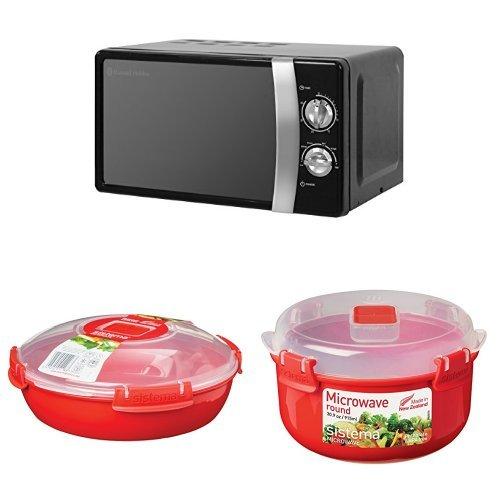 Russell Hobbs RHMM701B 17L 700W Manual Microwave