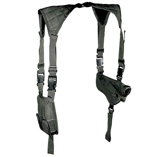 UTG LE Grade Universal Horizontal Shoulder Holster, Black
