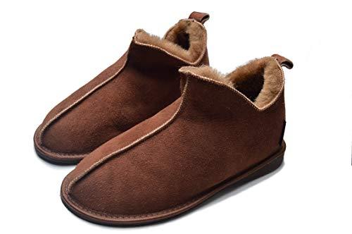 Yeti & Sons , Damen Hausschuhe, Braun - Chocolate/Brown - Größe: 39 EU