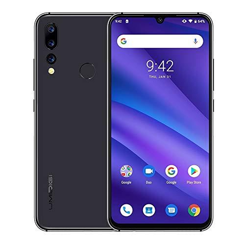 LIUCX Móviles y Smartphones Libres A5 Pro, Global Dual 4G, 4 GB + 32 GB, Triple Volver Cámaras, 4150mAh de la batería, identificación de Huellas Dactilares, de Red: 4G, Dual SIM (Color : Space Grey)