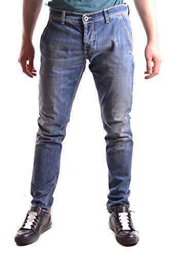DONDUP Jeans Uomo Mcbi28988 Cotone Blu