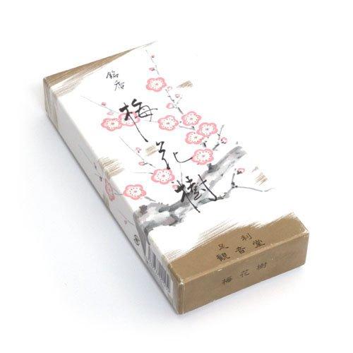 Shoyeido Baika-ju Pflaumenblüte Premium-japanische Räucherstäbchen 150 Sticks, 30 Minuten Pro Stick