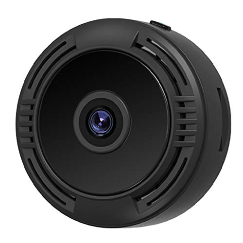 TISHITA F8 Cámara 4K HD Wireless 1080P WiFi Cam Security para Interior MAX 128G TF