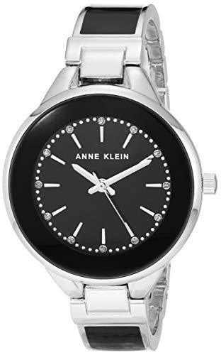 Anne Klein Dress Watch (Model: AK/3319BKSV)