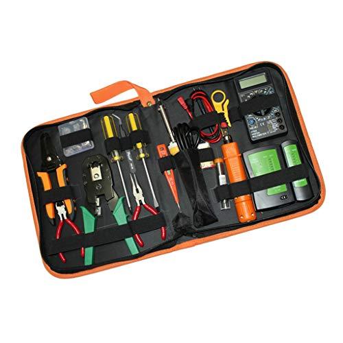 Harilla La Oficina En Casa Debe Tener Kits De Herramientas De Reparación De Red 16 En 1 Instalación Del Cable LAN