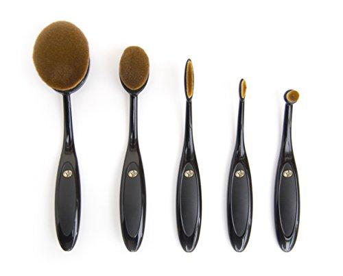 Rio Essential Micro Fibre professionnel Brosse Cosmétique ovale Collection