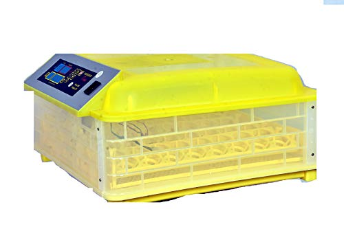 INDU20-48 Eggs All-in-One Intelligent Full-Automatic Egg Incubator Hatcher Transparent Eggs Hatching Machine for Chicken