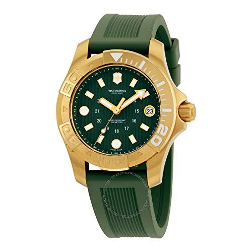 Victorinox Dive Master 500 Damen Uhr analog Quarzwerk mit Kautschuk Armband V241557