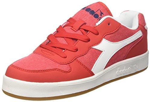 Diadora Playground CV GS, Sneaker Bambini e Ragazzi, Rosso (Rosso Carminio), 38 EU