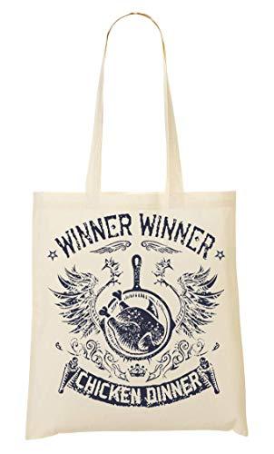 BakoIsland Winner Winner Chicken Dinner Tragetasche Einkaufstasche