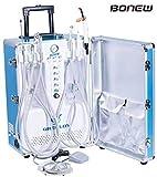 BoNew Portable Unit Turbine with Air Compressor Suction System Triplex Syringe