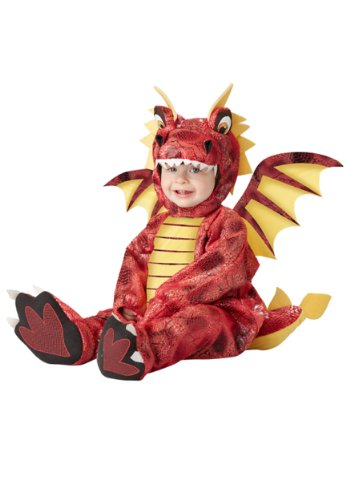 Baby Boys' Adorable Dragon Costume 24 Months Red