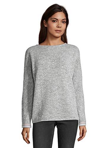 Cartoon Damen 2014/7066 Sweatshirt, Grau (Grey/Cream 9813), (Herstellergröße: 44)