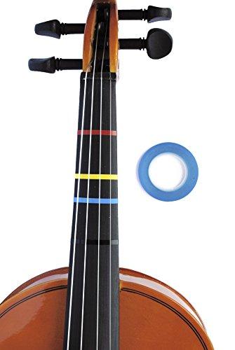 Long Beach Musik Violine Griffweise Tape blau