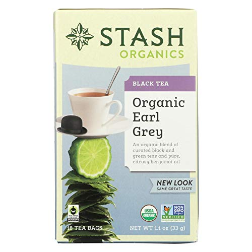 Stash Tea Green Tea, Ginger Peach with Matcha, 18 ct