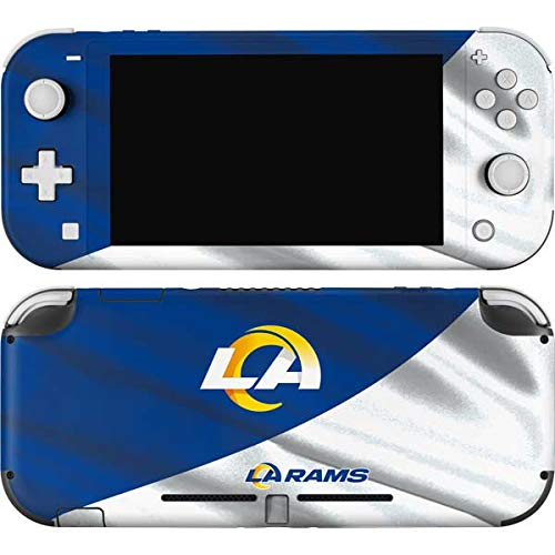Skinit Decal Gaming Skin Compatible with Nintendo Switch Lite - Officially Licensed NFL Los Angeles Rams Flag Design