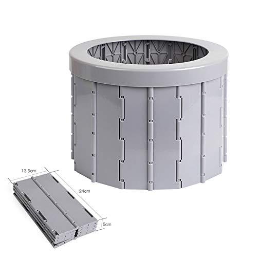 LCLLXB Tabouret de Toilette de Voiture Pliable Portable,Pot de Voyage pour Les Enfants Adultes,...