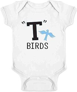 T Birds Tbird Costume Men Gang Logo Retro 50s 60s Infant Baby Boy Girl Bodysuit